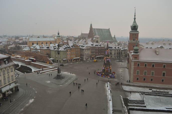 Vista da torre da Igreja de St Anna