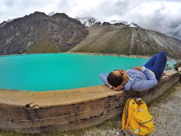 Laguna Paron em Huaraz, no Peru
