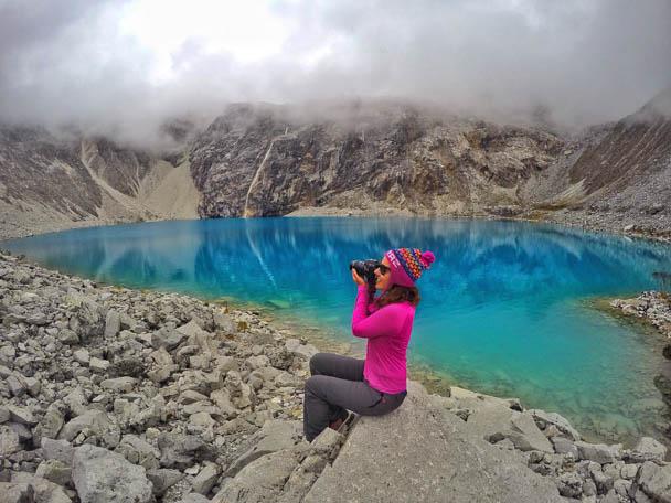 Laguna 69 em Huaraz, no Peru