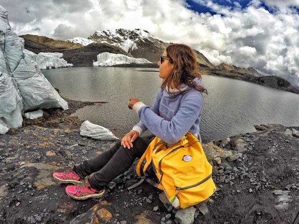 Glacial Pastoruri em Huaraz, no Peru