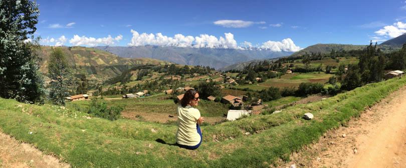 Huaraz, no Peru