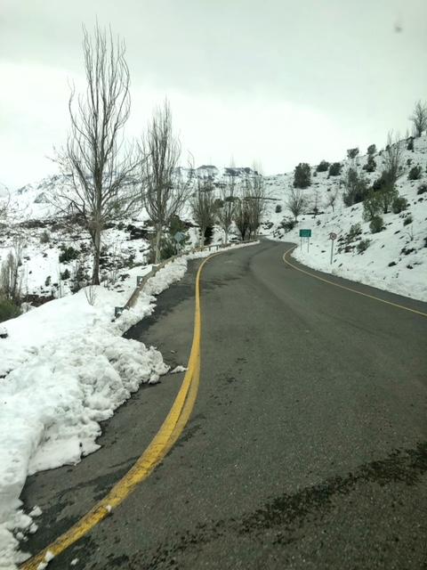 neve no Chile