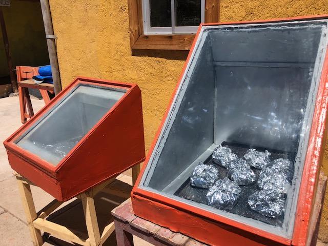 Comidas feitas com luz solar em Vicuña