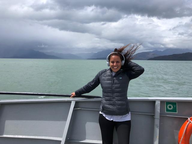 catamarã de Puerto Natales a Caleta Tortel